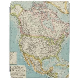 北アメリカ34 iPadスマートカバー