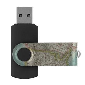 北アメリカ34 USBフラッシュドライブ