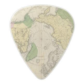 北アメリカ、アジア アセタール ギターピック