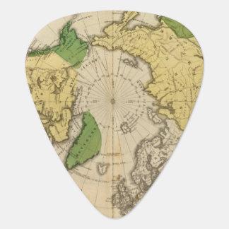 北アメリカ、アジア ギターピック