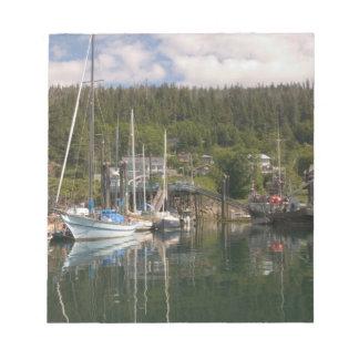北アメリカ、カナダのシャーロット女王の島、4 ノートパッド