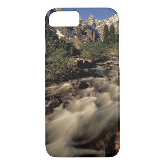 北アメリカ、カナダ、カナダ人ロッキー山脈、Banff iPhone 8/7ケース