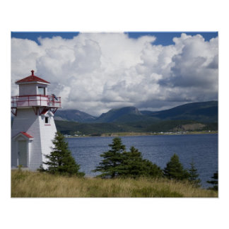 北アメリカ、カナダ、ニューファウンドランドおよび2 ポスター