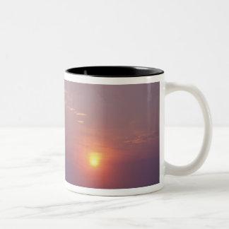 北アメリカ、カナダ、ニューファウンドランドの岬のやり、 ツートーンマグカップ