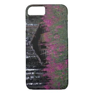 北アメリカ、カナダ、ユーコン準州。 断念されたわな猟師 iPhone 8/7ケース