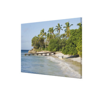 北アメリカ、カリブのドミニカ共和国 キャンバスプリント