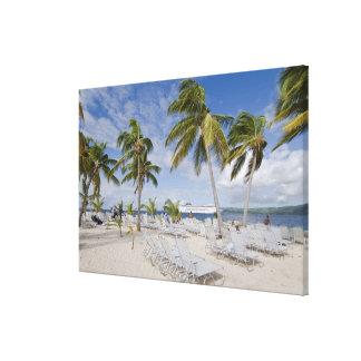 北アメリカ、カリブのドミニカ共和国。 2 キャンバスプリント