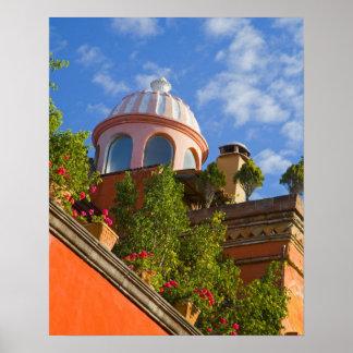 北アメリカ、メキシコ、グアナフアト州の国家、サン4 ポスター