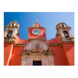 北アメリカ、メキシコ、グアナフアト州。 神社の ポストカード