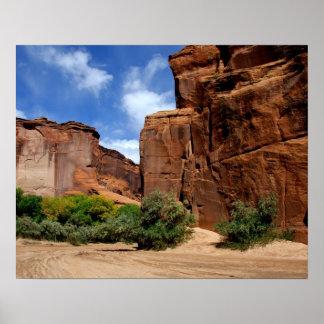 北アメリカ、米国、アリゾナ、ナバホー人インディアン5 ポスター