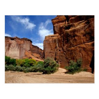 北アメリカ、米国、アリゾナ、ナバホー人インディアン5 ポストカード