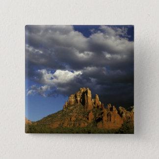 北アメリカ、米国、アリゾナ、Sedona. 5.1cm 正方形バッジ