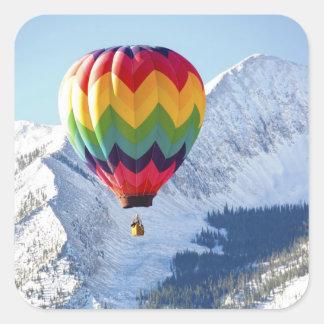 北アメリカ、米国、コロラド州、Mt.はビュート、2の頂点に達しました スクエアシール
