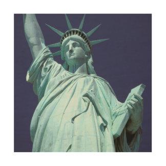 北アメリカ、米国、ニューヨーク、ニューヨークシティ。 7 ウッドウォールアート