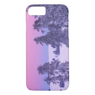 北アメリカ、米国、モンタナ、イエローストーン iPhone 8/7ケース