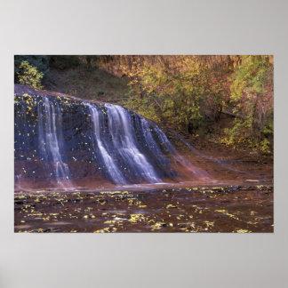 北アメリカ、米国、ユタのザイオン国立公園 ポスター