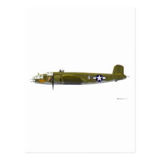 北アメリカB-25J Mitchell ポストカード