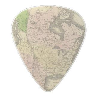 北アメリカOlneyの地図 アセタール ギターピック