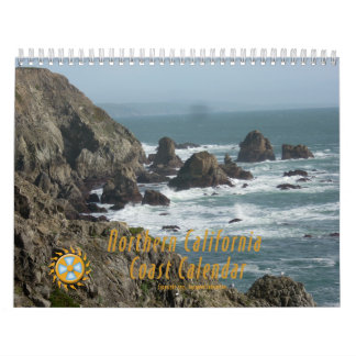 北カリフォルニアの海岸のカレンダー カレンダー