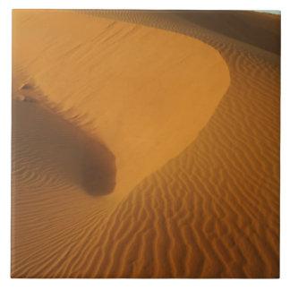 北スーダン(Nubia)、砂漠の砂丘 タイル