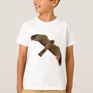 北ハリアーは頭上に上昇します Tシャツ