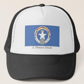 北マリアナ諸島の旗の記念品の帽子 キャップ