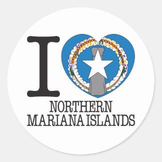 北マリアナ諸島愛v2 ラウンドシール