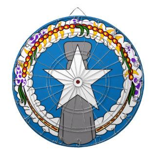 北マリアナ諸島(米国)の旗 ダーツボード