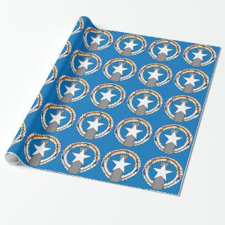 北マリアナ諸島(米国)の旗 ラッピングペーパー