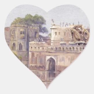 北マリアンヌ著Rajputの城砦 ハートシール