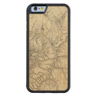 北中部のニューメキシコ CarvedメープルiPhone 6バンパーケース
