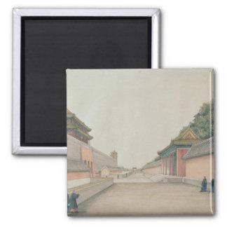 北京の帝国宮殿 マグネット