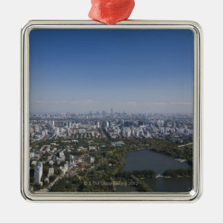 北京の都市景観 メタルオーナメント
