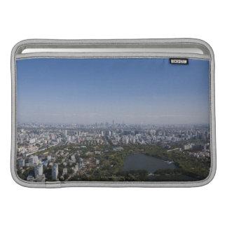 北京の都市景観 MacBook スリーブ
