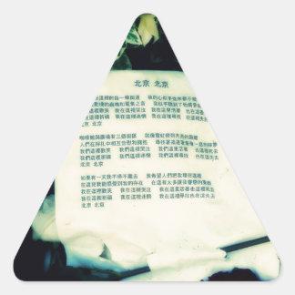北京北京 三角形シール