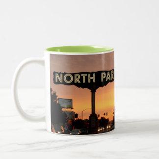 北公園サンディエゴ ツートーンマグカップ