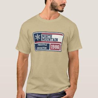 北山のフリースタイルの生成 Tシャツ