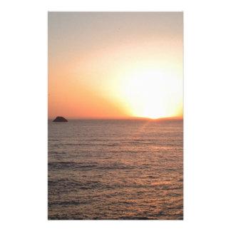 北岸の日没 便箋