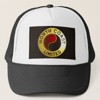 北岸の鉄道印の帽子 キャップ