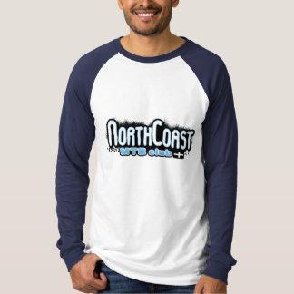 北岸MTB -野球のロゴのティー Tシャツ