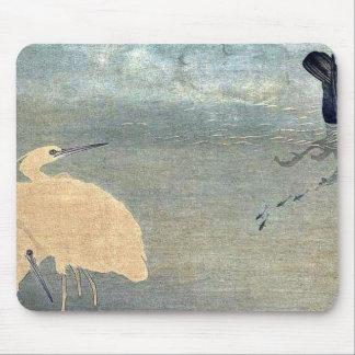 北川町、Utamaro著鵜そして白い鷲 マウスパッド