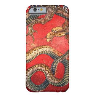 北斎の龍、北斎のHokusaiのドラゴン、Hokusaiの日本芸術 Barely There iPhone 6 ケース