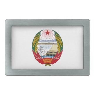 北朝鮮の国章 長方形ベルトバックル