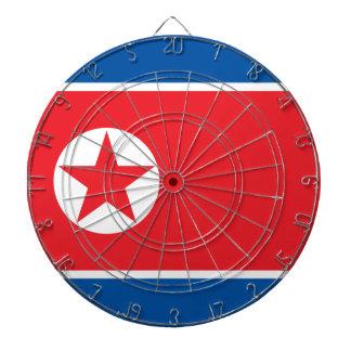 北朝鮮の旗 ダーツボード