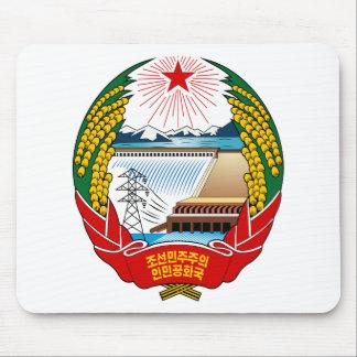 北朝鮮の紋章付き外衣 マウスパッド
