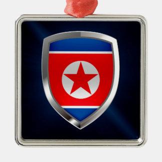 北朝鮮の金属紋章 メタルオーナメント