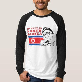 北朝鮮-金正日でだけ巨大 Tシャツ