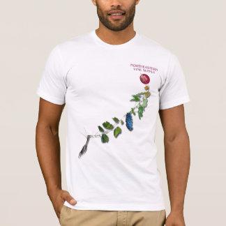 北東つる植物の供給のスタッフのワイシャツ Tシャツ