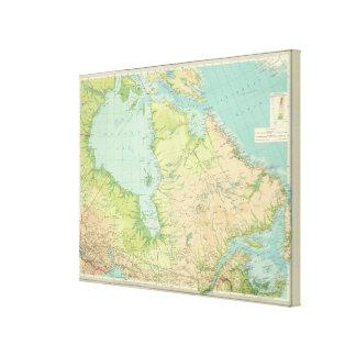 北東カナダ キャンバスプリント
