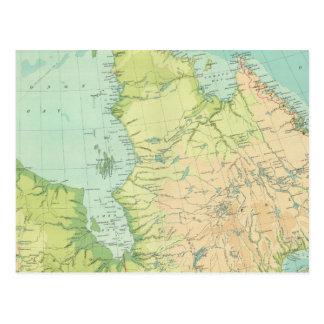 北東カナダ ポストカード